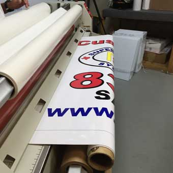 banners and sign installation
